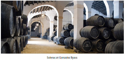 Soleras at Gonzalez Byass