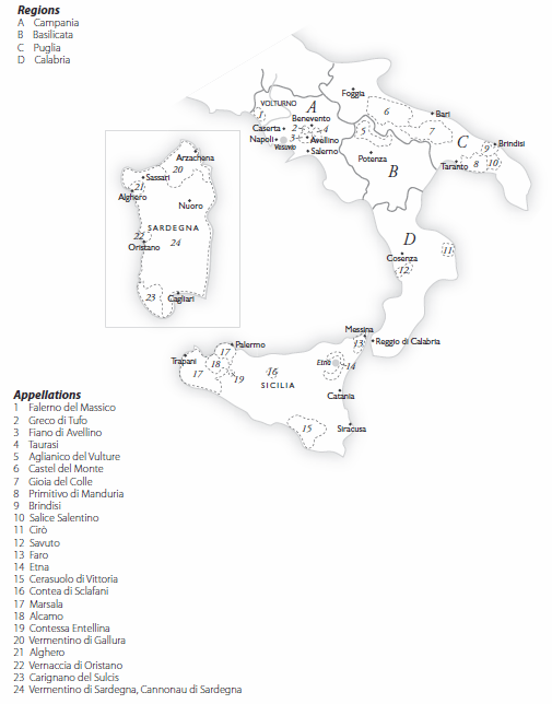 Wine Guide Southern Italy And Islands