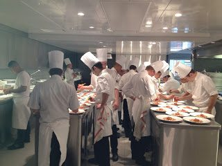 A busy kitchen!