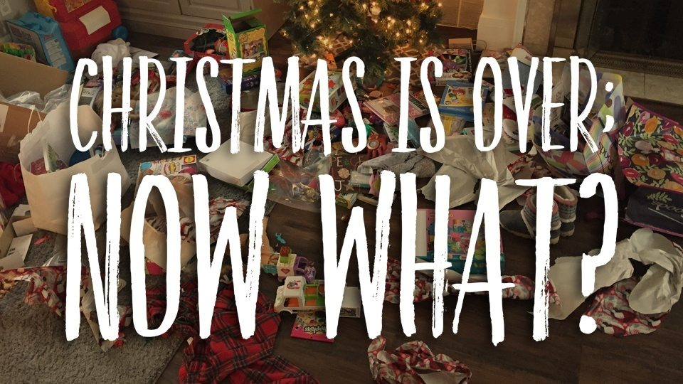 Christmas is now over