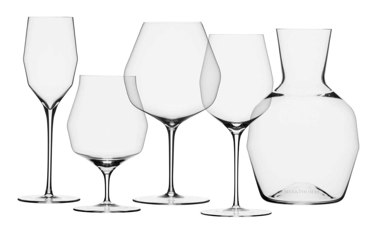 mark thomas double bend glassware